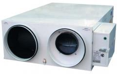 Приточно-вытяжная установка с охлаждением
