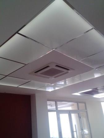Благодаря вентиляции с рекуператором, мы установили кондиционеры меньшей мощности