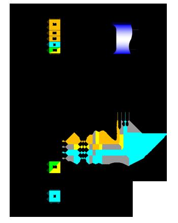 Схема подключения К-1000 GTC
