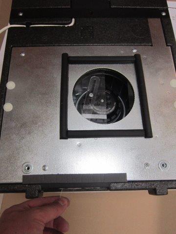 Воздушный клапан вручную перекрывает приток воздуха. Легким движением руки клапан герметично перекрывает поток воздуха с улицы