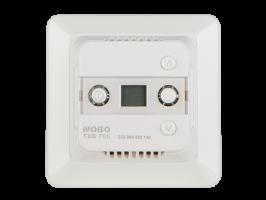 TXB 700 выполняет роль центрального термостата в помещении с одном или несколькими обогревателями Nobo серий C2/С4 и Safir