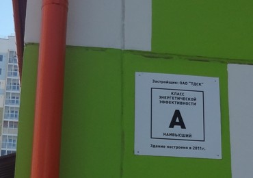 Класс энергоэффективности детского сада А