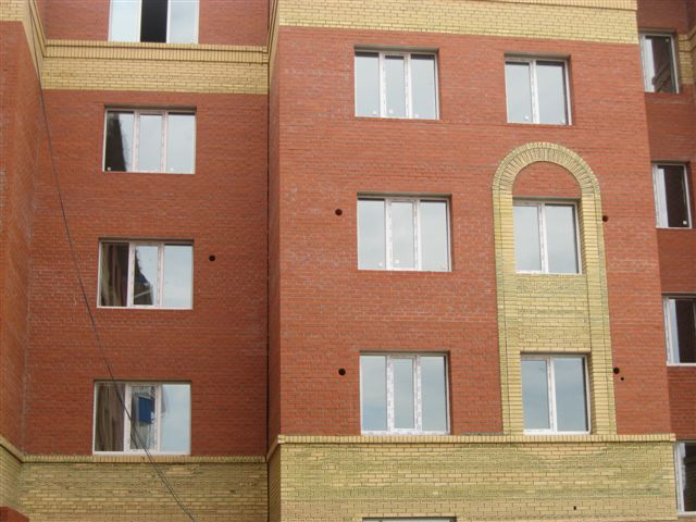 Алмазное бурение вид с фасада