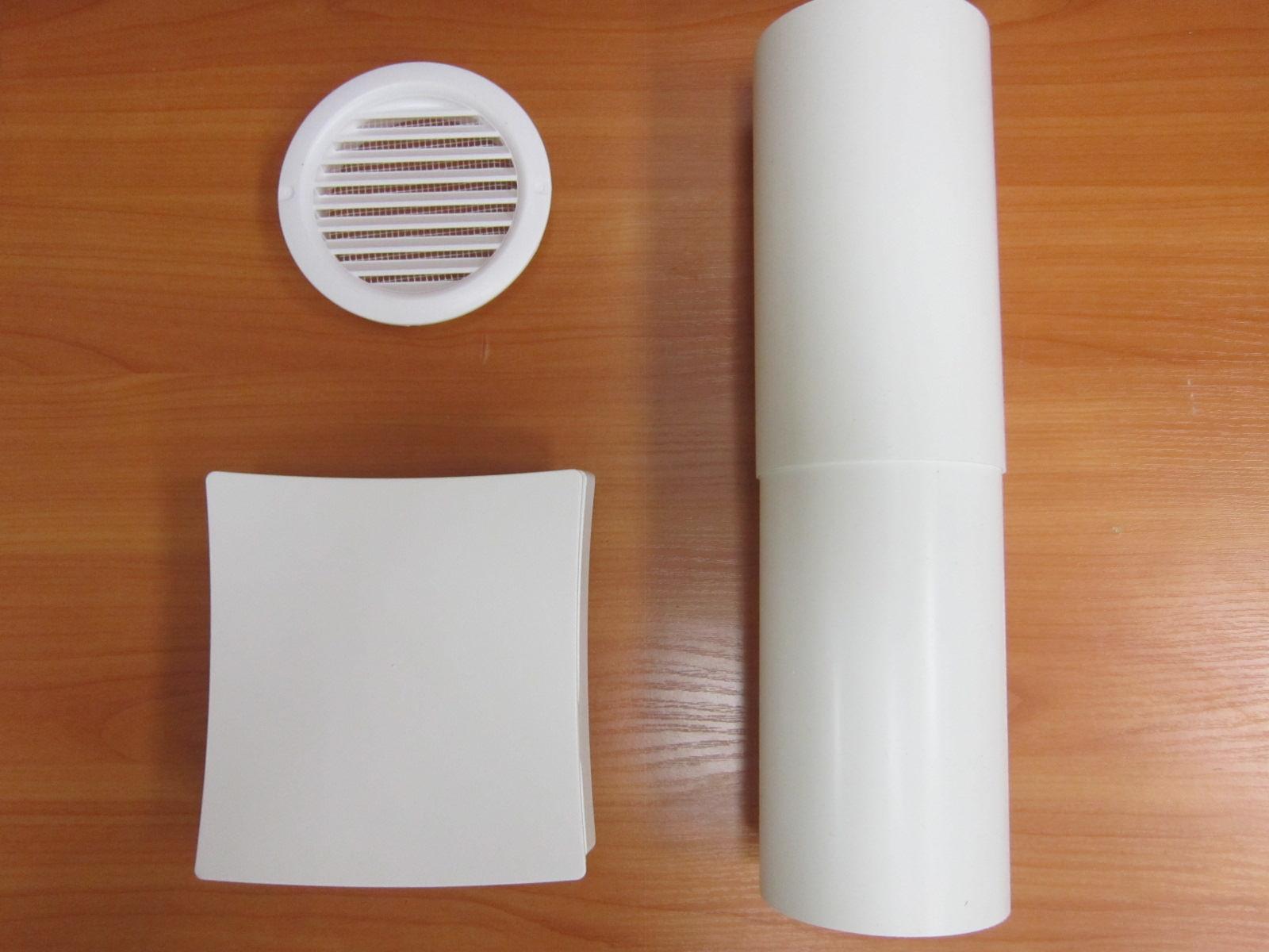 Приточный клапан Vents ПС-100 комплект