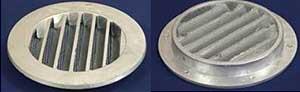Наружная решетка клапана КИВ-125