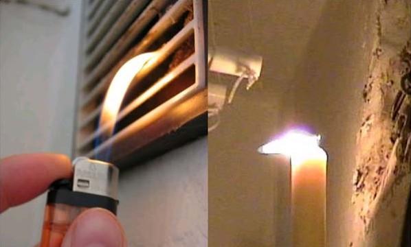 Проверьте, работает ли у вас вытяжная вентиляция на кухне и в ванной?