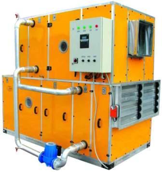 очистка воздуха. увлаженение, охлаждение или подогрев воздуха центральный кондиционер