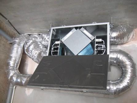 приточно-вытяжная установка с рекуператором тепла экономит на нагреве приточного воздуха до 65%