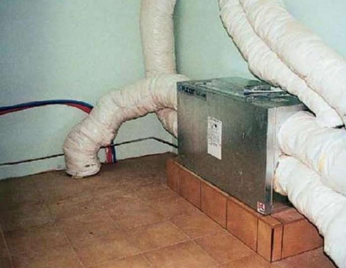 Как не потерять тепло через трубу дымохода?