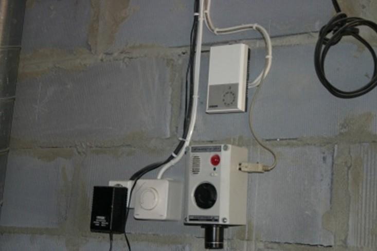 Датчик влажности и загазованности в гараже