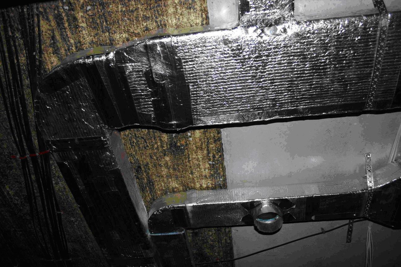 приточно-вытяжная вентиляция в сауне схема