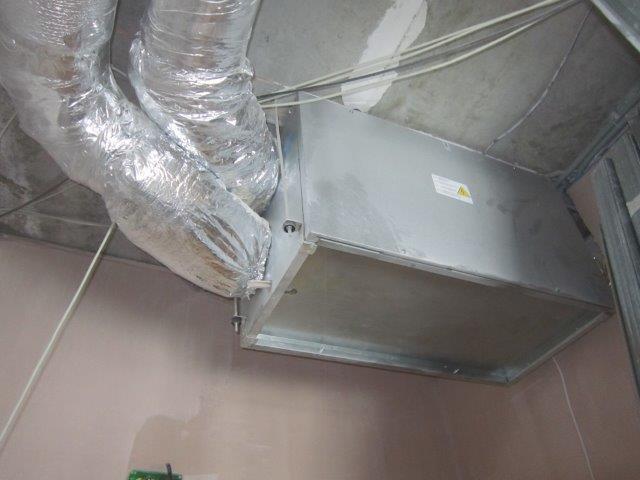 Приточно-вытяжная вентиляционная установка ВУТ 600 ЭГ