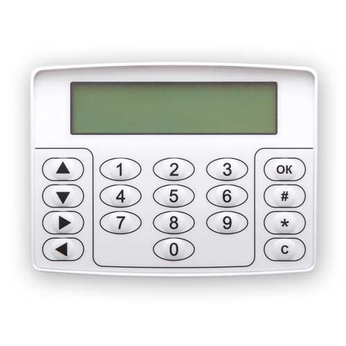 клавишная панель для управления кситалом