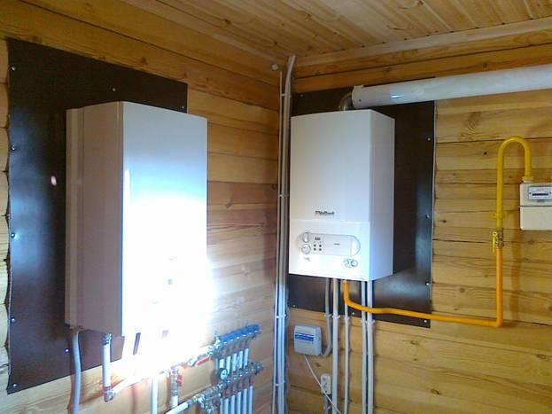 контроль температуры в доме газовый котёл Vailant