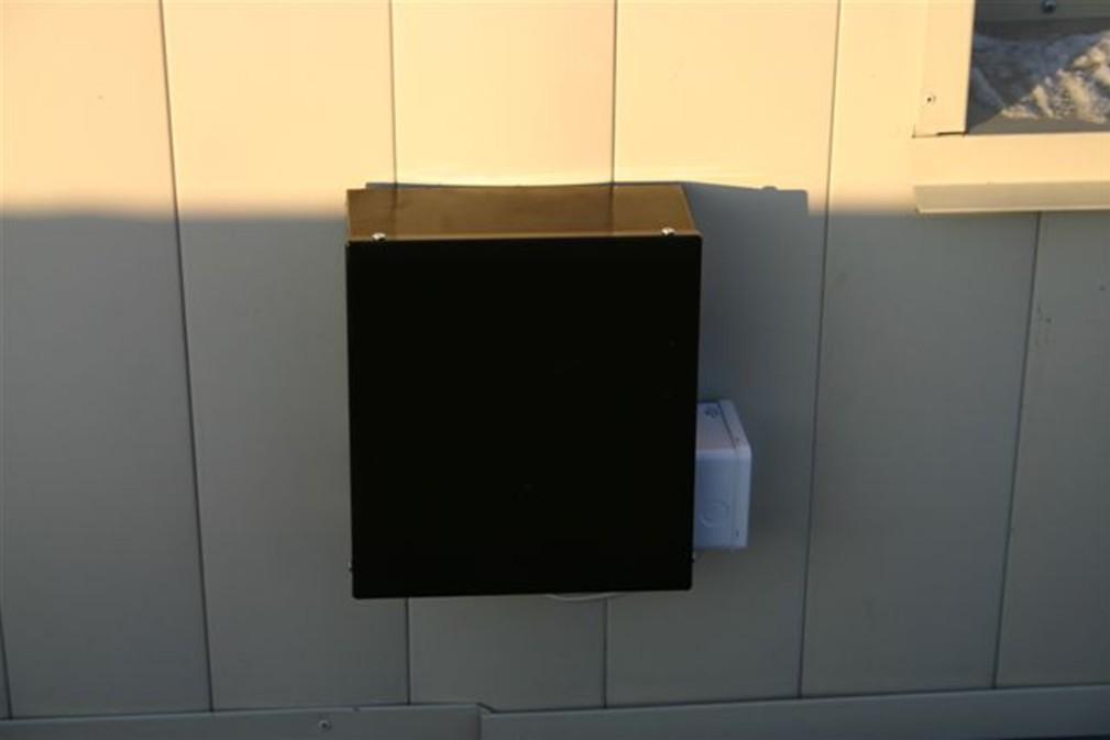 Вытяжной уличный вентилятор