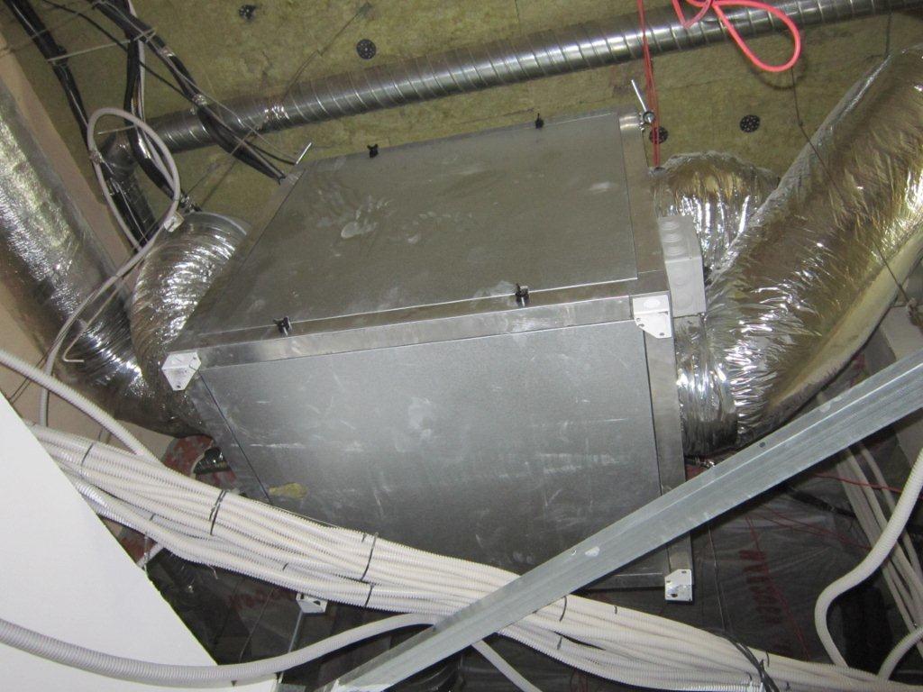 Смонтированная вентиляционная установка ВУТ 2000Г