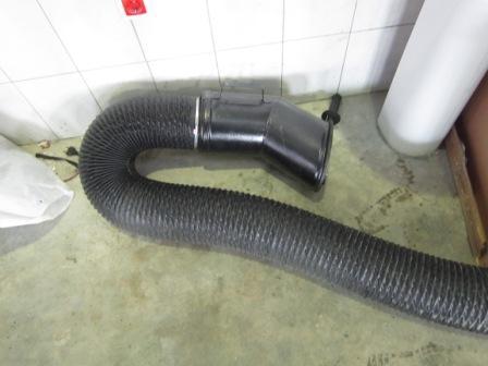 Вытяжка для выхлопных газов
