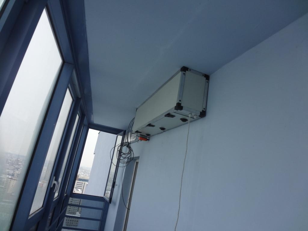 Вентиляция для квартиры в оживленном районе города
