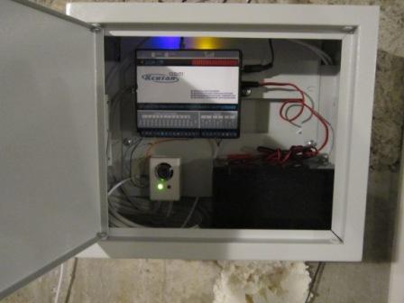 GSM Кситал 12Т для управления газовым котлом.  Контроль газового котла GSM.