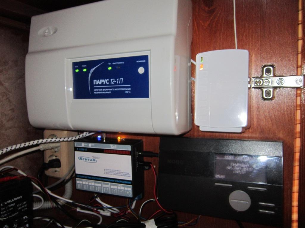 GSM автоматика управление котлом, отоплением, конвекторами ...